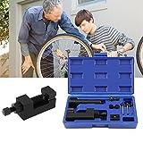 Chain Breakers Splitter Riveting Tool kit,interruttore a catena e rivetto-Rivettatrice per rivettatura,Set di attrezzi, YTv/bicicletta/motocicletta/cam Drive, dimensioni: 520/525/530/630