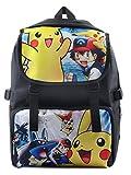 BSBL Nueva mochila impermeable Pokemon Pikachu del anime Bolsa para la escuela Chico Las niñas Eevee estudiantiles bolsos 30 * 16 * 45cm