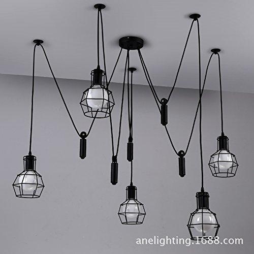 sdkky-sollevare-una-piccola-gabbia-in-ferro-lampadario