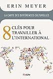 La carte des différences culturelles - 8 clés pour travailler à l'international.