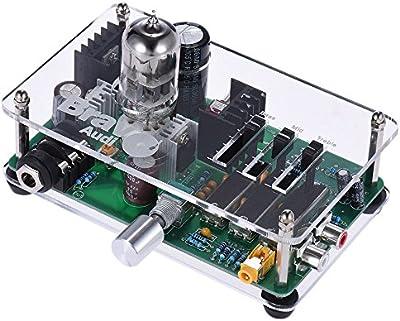 Amplificador de Auriculares Audio V3 6922EH Tubo Amp 3 Bandas de Ecualización del Ecualizador con Estéreo RCA / 3,5 mm / 6,35 mm Jacks de ammoon Bravo