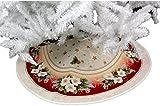 Baumdecke Gobelin 95 cm rund Weihnachten Christbaumdecke Weihnachtsbaumdecke Baumschürze Hossner (95 cm)