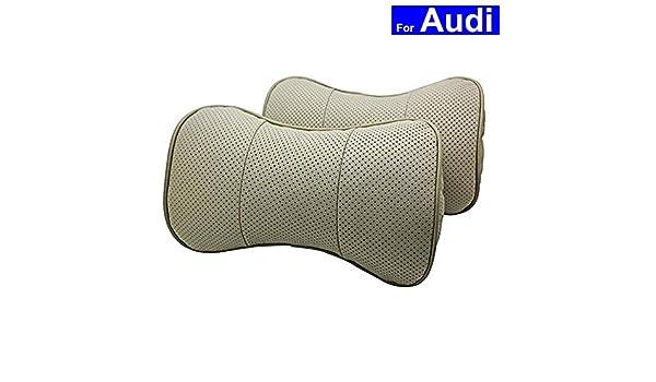 autosunshine Echtleder Knochenform Autositz Nacken Rest Kopfst/ütze bequeme Kissen
