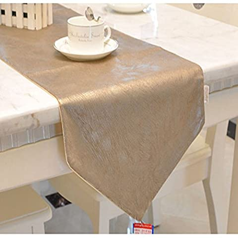 Emmet Luxury Gilding Table Runner for Daily Home Decorations, Weddings