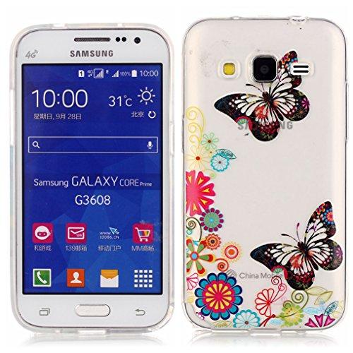 LOOKAY Coque Galaxy S6 Edge,Etui Ultra Mince Housse Silicone Transparent pour Samsung Galaxy S6 Edge Coque de Protection en TPU avec Absorption de Choc Bumper et Anti-Scratch, Chaussures à talon haut 06HUA