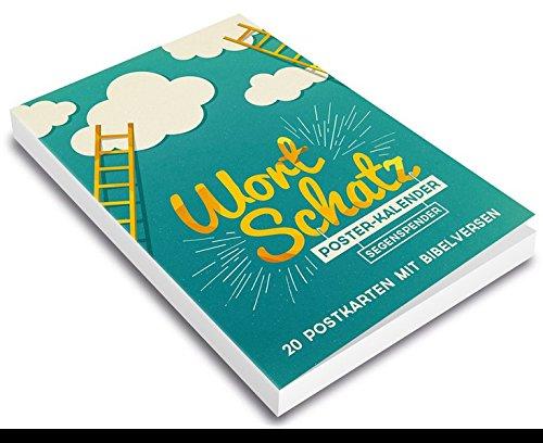 WortSchatz: Segenspender - Postkartenbuch: 20 Postkarten mit Bibelversen.