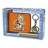 ABYstyle Dragon Ball Cartera con Llavero Goku, abypck113