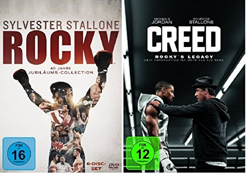 Rocky - The Complete Saga + Creed - Rocky's Legacy * DVD Set -
