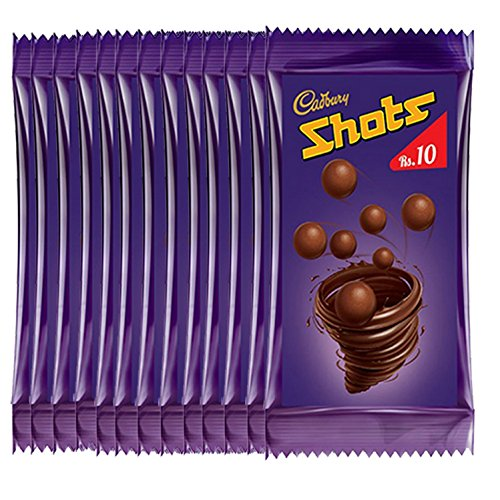Cadbury Dairy Milk Shots, 648g (40 X 16.2g Each)