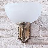 Schöne Jugendstil Wohnzimmerlampe in Bronze E14 230V mit Zugschnur Schalter Wandleuchte Wandlampe