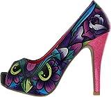 Iron Fist - Zapatos de Vestir de Material Sintético para Mujer