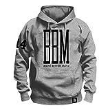 \m/-\m/ SPONGEBOZZ - BBM Logo - Grey - Kapuzenpullover/Hoodie Größe L