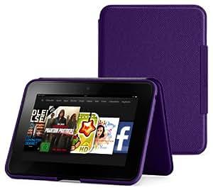 Amazon Kindle Fire HD Lederhülle (2. Generation - 2012 Modell), Violett