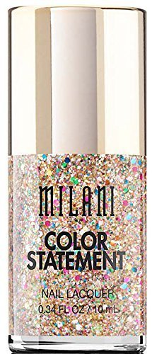 Milani Color Statement Nail Lacquer, Gilded Rocks, 0.34 Fluid Ounce by Milani