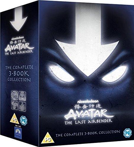 Avatar Der Herr der Elemente Box Das komplette Buch 1-3 Set - Wasser Erde Feuer -