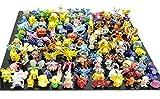 Pokémon Lots 24 Pcs Pokemon Pikachu Monster Mini Plastic Figures Randomly Small Size Gift
