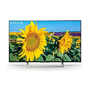 Sony BRAVIA KD43XF8096 Android 4K HDR Ultra HD TV with Voice Remote/YouView and Freeview HD – Black