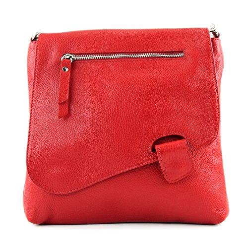 Sitio Oficial Barato modamoda de -. cuoio ital Borsa da donna Messenger bag borsa a tracolla in pelle borsa NT07 2in1 Rot Perfecta Salida n2wjdR05Zn