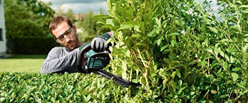 Bosch Home and Garden Akku-Heckenschere AHS 55-20 LI, Ladegerät, Karton 18 V, 2,5 Ah, Ladezeit 1h, Schnittlänge 55 cm, Messerabstand 20 mm, 1 Stück, 0.600.849.G00 -