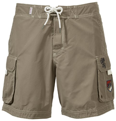 Bogner Fire + Ice Herren Badehose Mike, khaki, 46, 1413-4258 (Ice Fire Bogner)