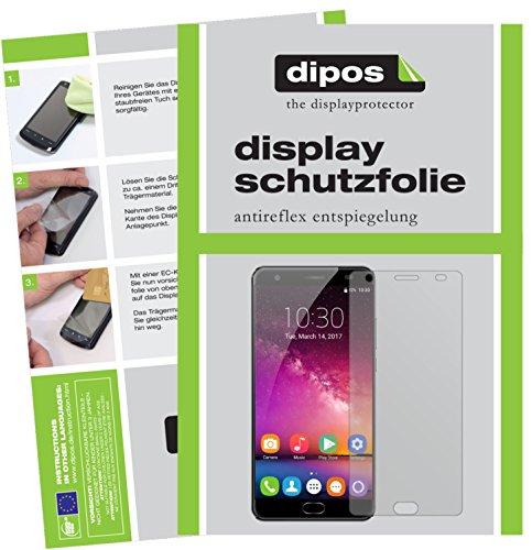 dipos I 6X Schutzfolie matt passend für Oukitel K6000 Plus Folie Bildschirmschutzfolie