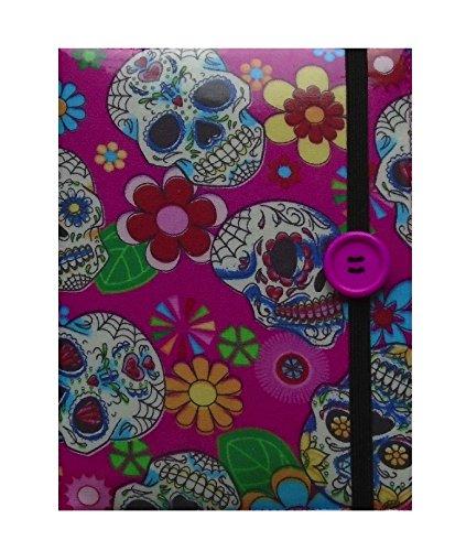 Preisvergleich Produktbild Rosa mexikanische SchŠdel-Druck Kindle Ereader Cover - Kindle Voyage