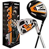 2014 Wilson X31 Forfait Golf Hommes Mis en Graphite/Acier