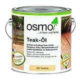Osmo Teak-Öl farblos 0,75 Liter