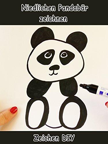 Clip: Niedlichen Pandabär zeichnen - Zeichen DIY