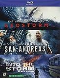Coffret catastrophes naturelles 3 films : geostorm ; san andreas ; blackstorm [Blu-ray] [FR Import]