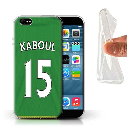 Officiel Sunderland AFC Coque / Etui Gel TPU pour Apple iPhone 6 / Pack 24pcs Design / SAFC Maillot Extérieur 15/16 Collection Kaboul