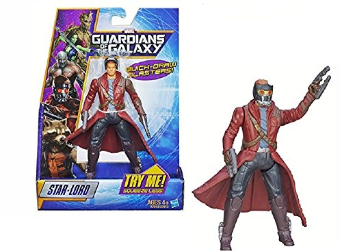 Marvel Guardianes de la Galaxia - Figura de Rapid Revealers Star Lord 6
