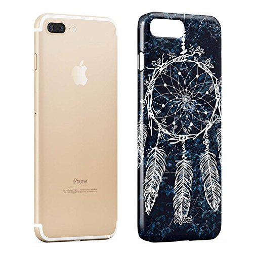 Glitbit Yin Yang Mandala Nature Landscape Mountains Forest Tumblr Sottile Guscio Resistente In Plastica Dura Custodia Protettiva Per iPhone 5 / 5s / SE Case Cover Native Dreamcatcher