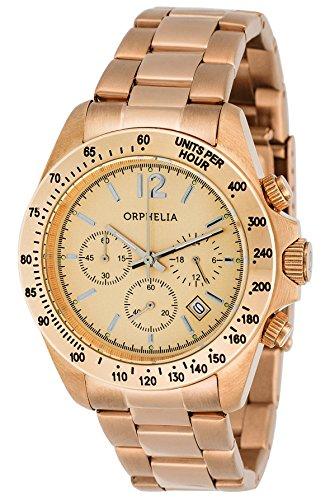orphelia-montre pour mixte à Movement Quartz en acier inoxydable-or132–1702–14