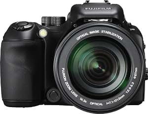 """Fujifilm FinePix S100fs Appareil photo bridge numérique Ecran LCD 2,5"""" 11 MP Zoom optique x14,3 Stabilisateur d'image Noir"""