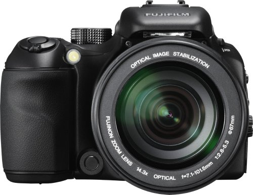 FujiFilm FinePix S100fs Digitalkamera (11 Megapixel, 14-fach opt. Zoom, 2,5