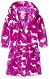 Hatley Fleece Robe-Deers & Bunnies, Vestaglia Bambina, Rosa, Medium