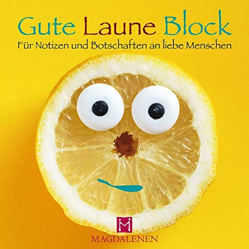 Gute Laune Block Lustige Zitrone: Für Notizen und Botschaften an liebe Menschen