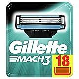Best El hombre afeitado cuchillas - Gillette Mach3 Recambio De Maquinilla De Afeitar, Paquete Review