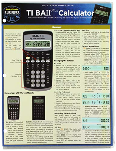 Ti Ba II Plus Calculator