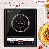 Singer Venus 1400-Watt Induction Cooktop (Black)