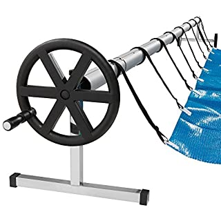 Arebos Pool Reel System for Pool Covers / 9.8 - 18.7 ft (3 - 5.70 m) / Weatherproof material