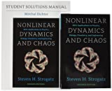 Nonlinear Dynamics and Chaos, 2nd ed. SET with Student Solutions Manual (Studies in Nonlinearity)