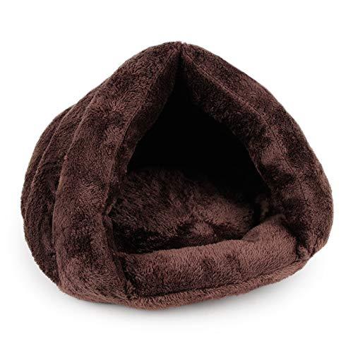YWJHY Saco Dormir Felpa Forma triángulo Gatos, cómodo