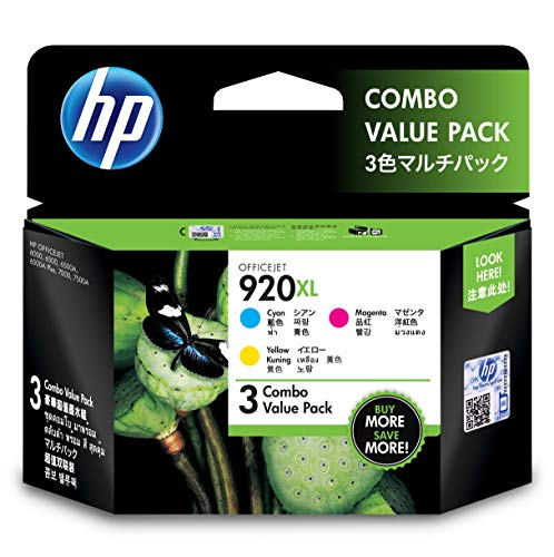 HP 920 X L color Officejet Tinte Combo Pack (Combo Tinte Hp Pack)
