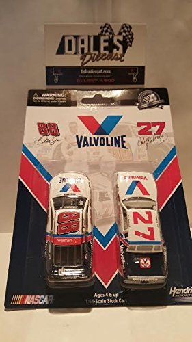 cale-yarborough-1982-valvoline-dale-earnhardt-jr-2015-valvoline-164-nascar-diecast-by-lionel-racing