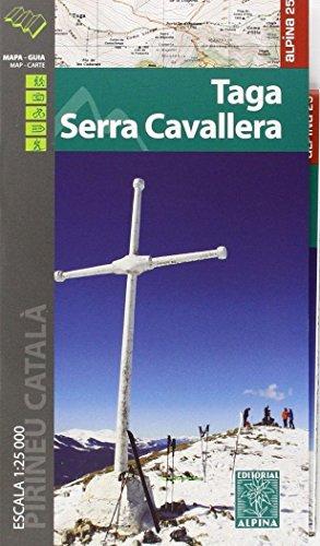 TAGA/SERRA CAVALLERA  1/25.000