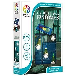 Smart Games La Nuit Des Fantômes Child Niño/niña – Juegos educativos, Child, Niño/niña, 6 año(s), 60 Pieza(s), 170 mm