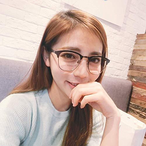 Han Ban großzügigen Rahmen Metall Literatur weiblich die Brille Rahmen Flut Stil anastigmatischen Spiegel weiblichen runden Gesicht Brille für Near Sight Frame