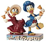 ENESCO Disney Tradition Chiming in (Victorian Donald & Daisy Duck Figur)